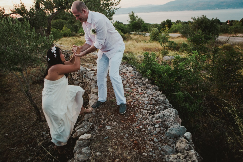 Rustic Croatia wedding