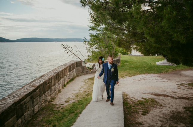 Seaside wedding in Croatia
