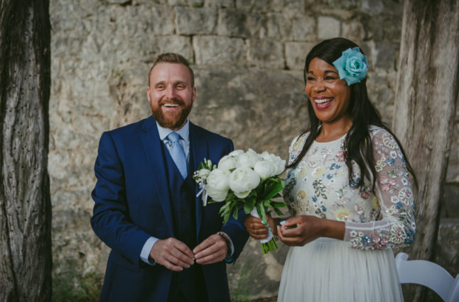 Saying i do in Split. Croatia