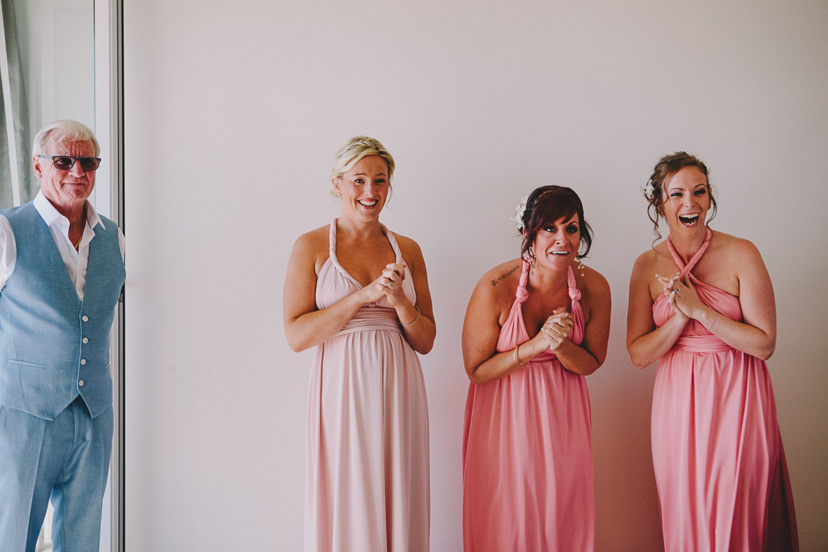 Bridesmaids Hvar wedding