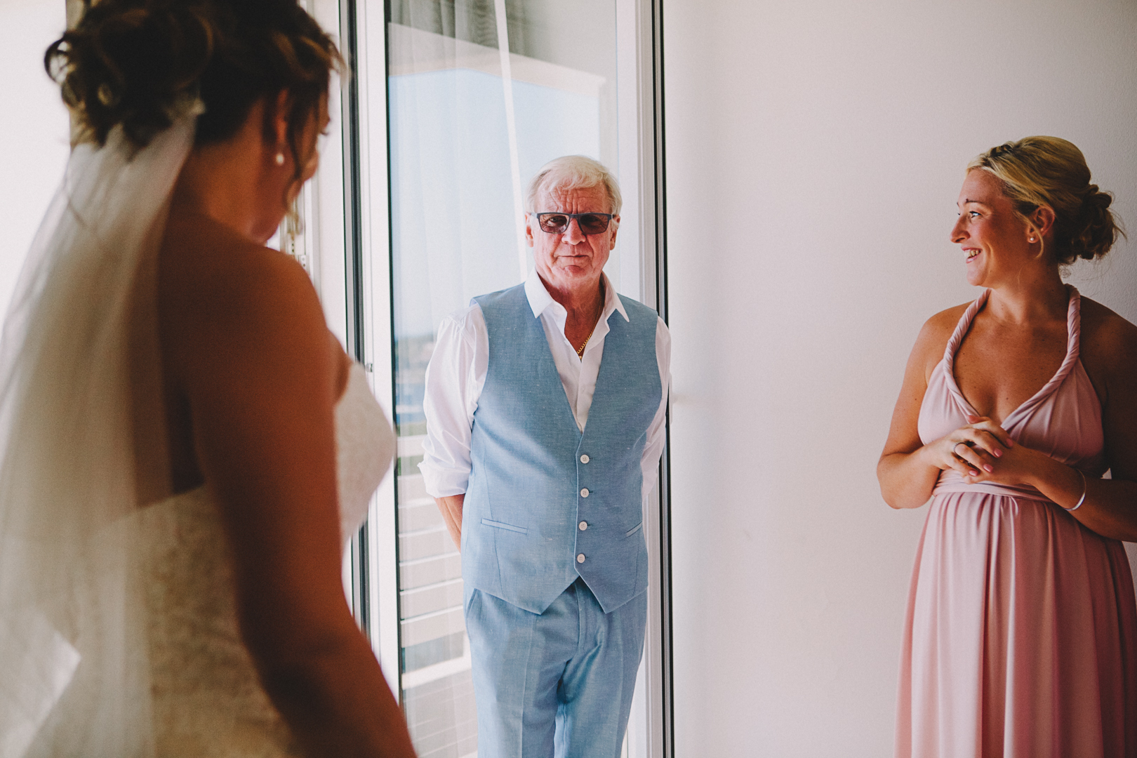 Father of the bride - croatia destination wedding