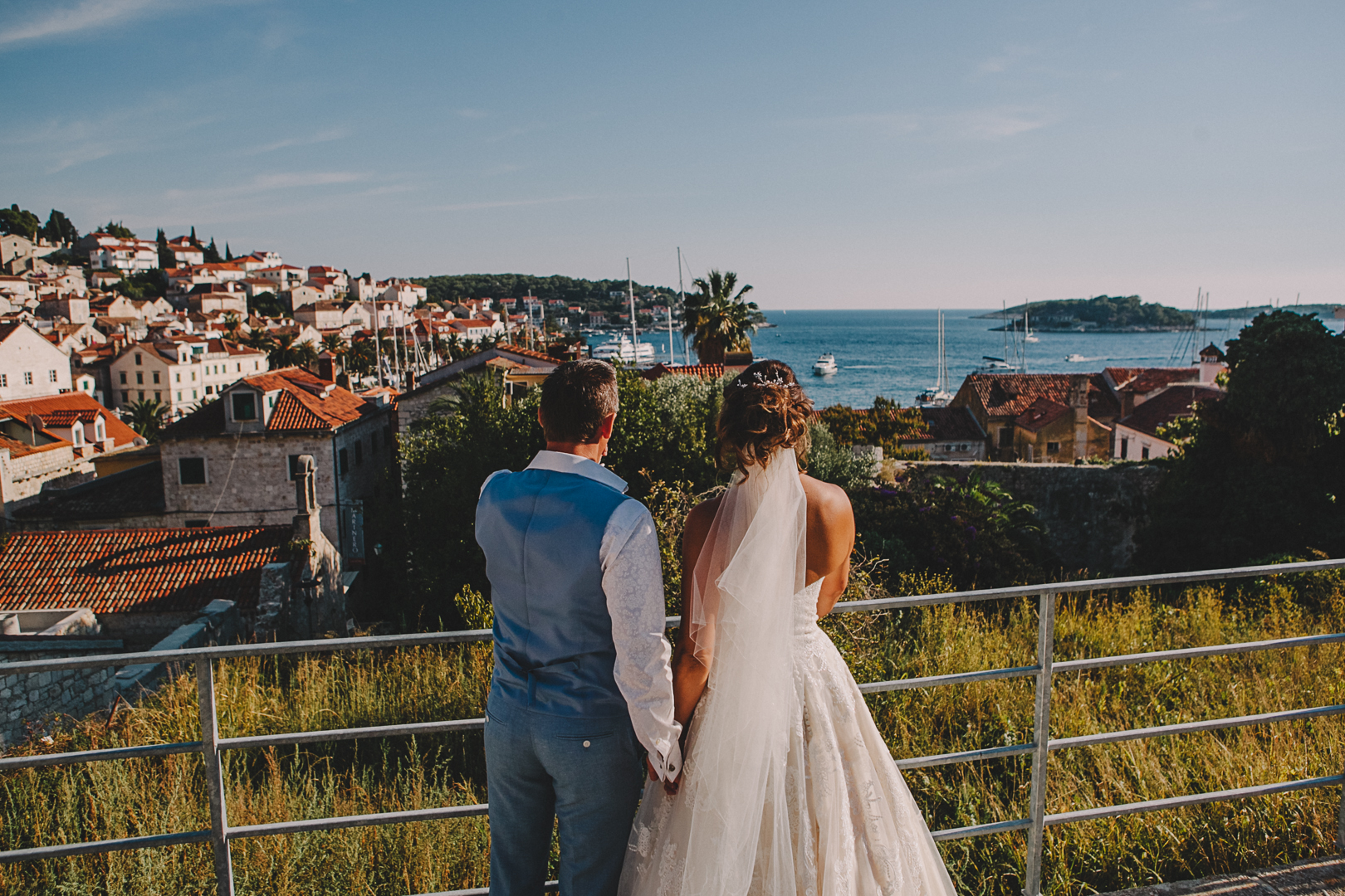 Hvar island wedding