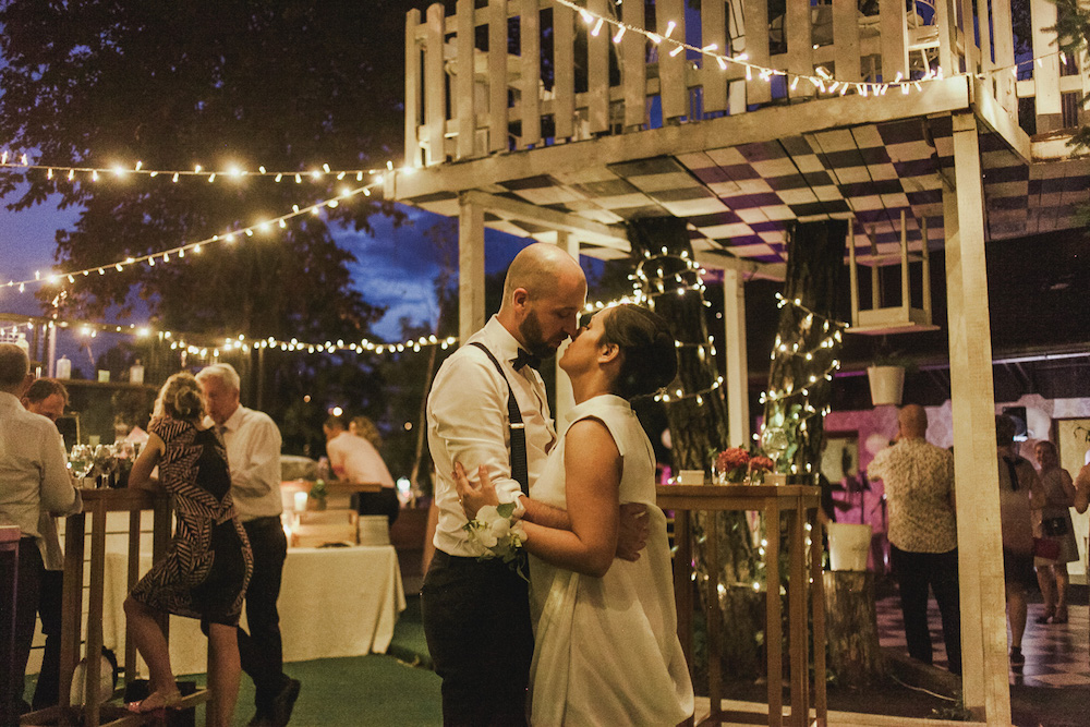 Tree house first dance