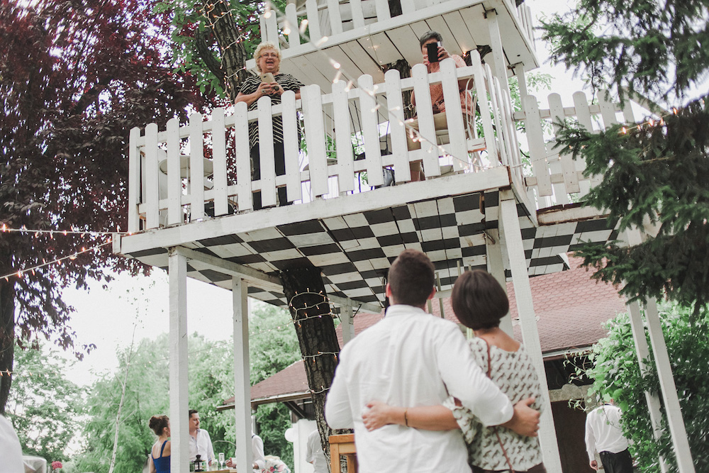 Tree house wedding idea