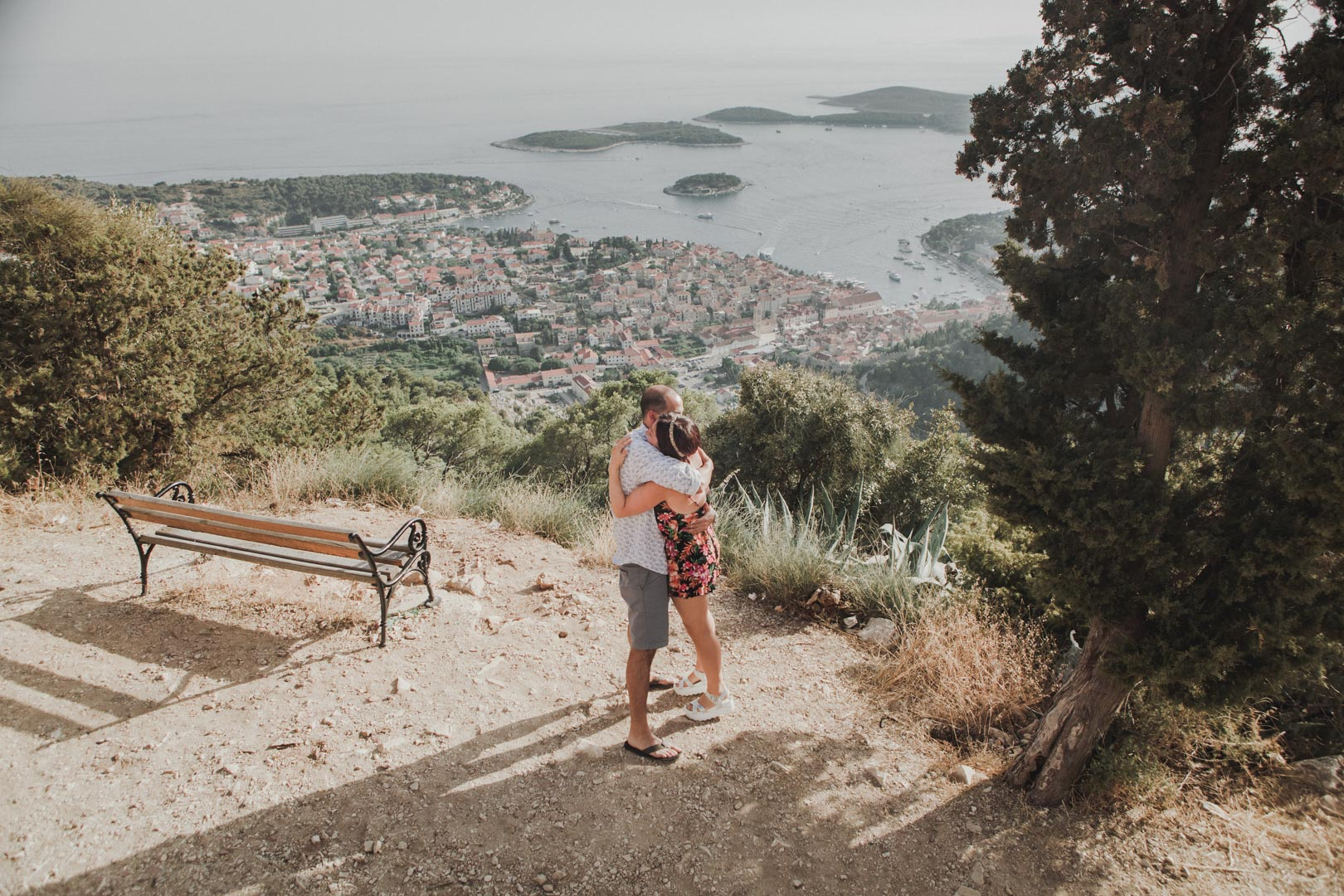 Hvar lookout point