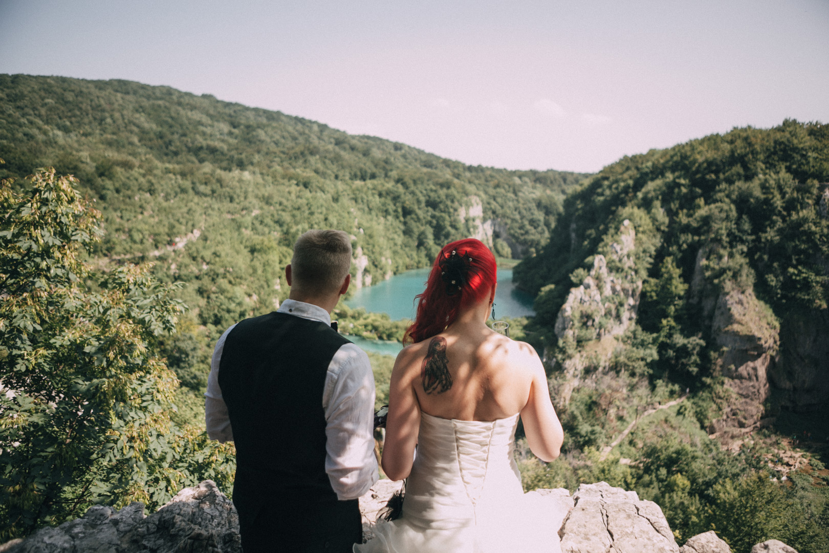 Wedding Photo Plitvice